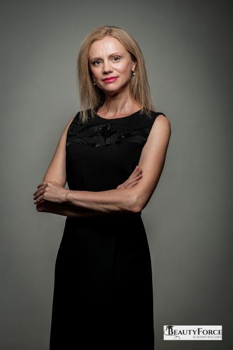 Боряна Людова - преподавател по масаж в BeautyFocre Acacdemy Bulgaria
