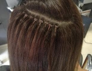 Модулно обучение за поставяне на естествени тресирани коси